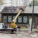 Исчезающее наследие: в Гомеле снесли очередной образец деревянного зодчества