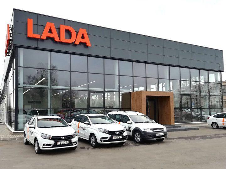 Новый автоцентр LADA открылся в Гомеле