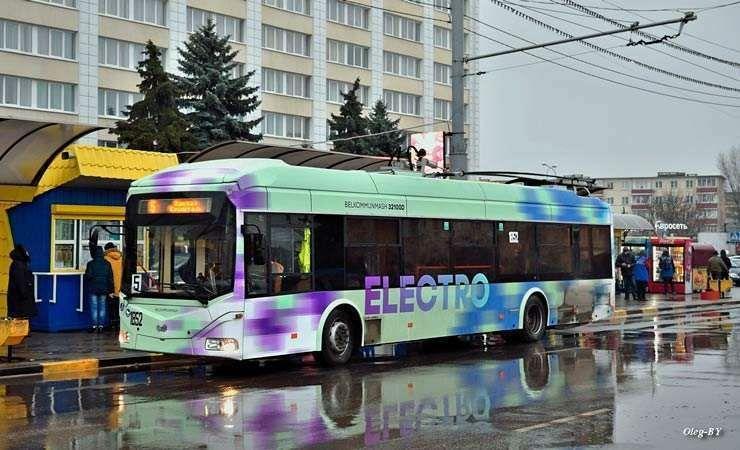 В Гомеле появился второй троллейбус с автономным ходом