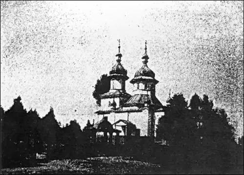 Церковь Рождества Богородицы на Новиковском кладбище. Начало XX века.