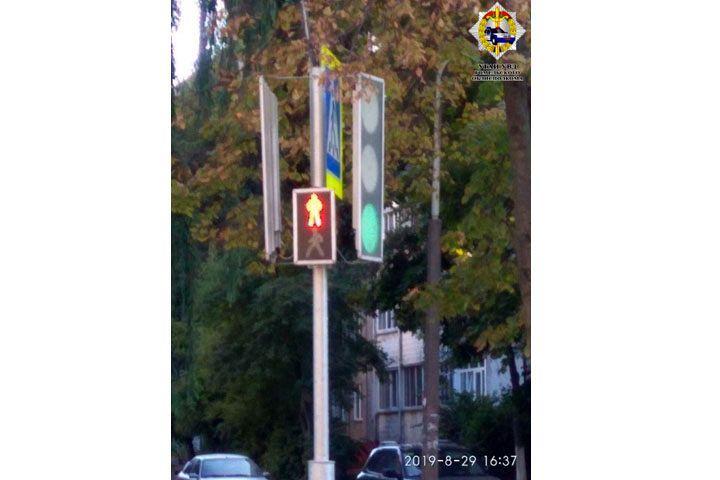 Новый светофор по инициативе ГАИ установлен на ул. Свиридова в Гомеле
