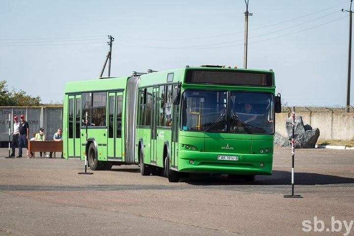 В Гомеле проходит конкурс профмастерства водителей пассажирских автобусов