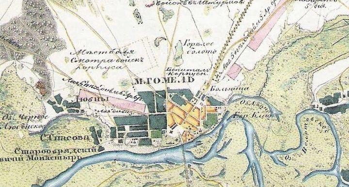 История городских ландшафтов: горелое болото в Гомеле