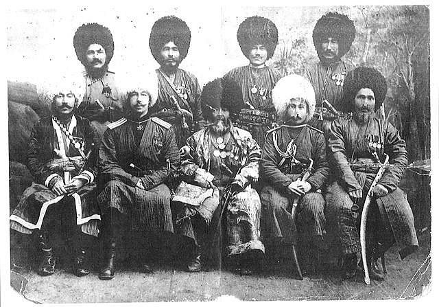 Туркменский конный дивизион. фото с сайта liveinternet.ru