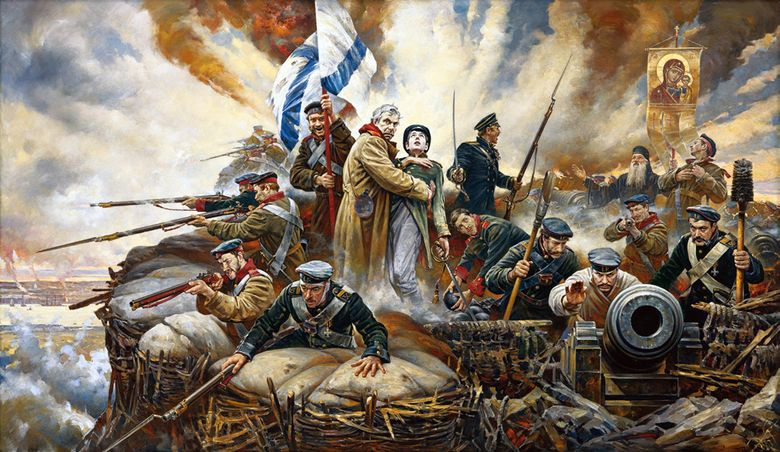 В. Нестеренко. Отстоим Севастополь! 2004 год. Фото с сайта vip-premier.ru