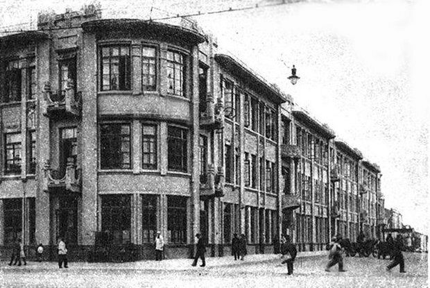 "Гостиница ""Савой"", 1917 г. Фото с сайта gp.by"