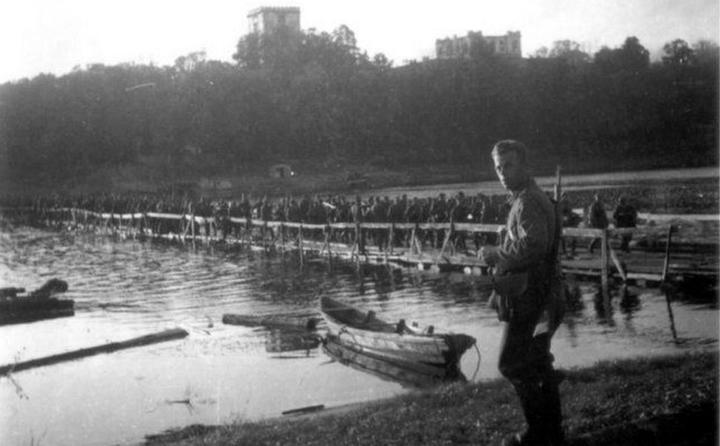 Красная армия покидает Гомель. Август 1941 года