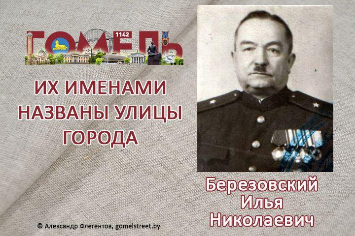 Березовский, Илья Николаевич
