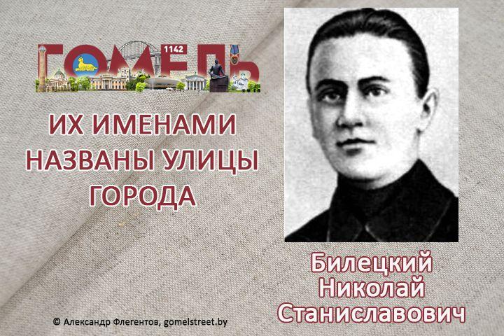 Билецкий, Николай Станиславович