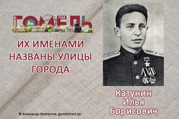 Катунин, Илья Борисович
