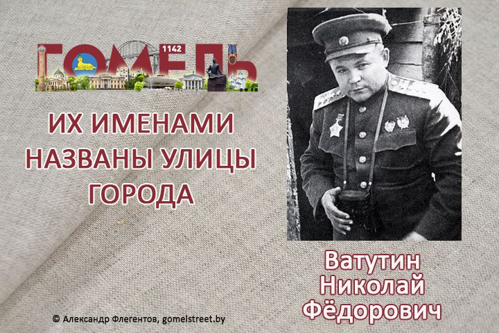 Ватутин, Николай Фёдорович