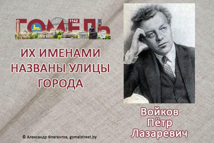 Войков, Пётр Лазаревич