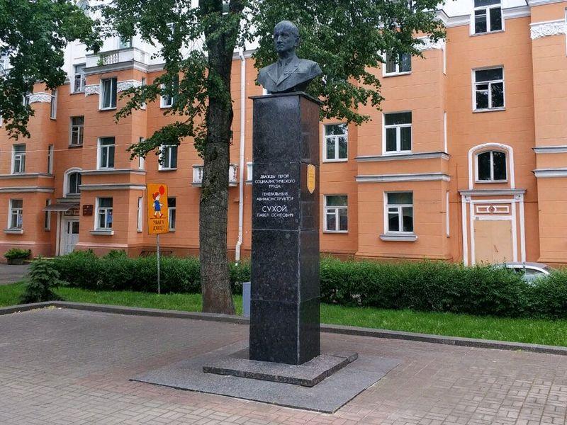 Памятник П.О. Сухому