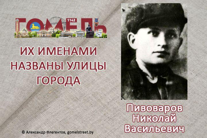 Пивоваров, Николай Васильевич