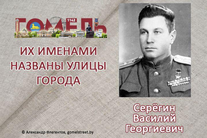 Серёгин, Василий Георгиевич