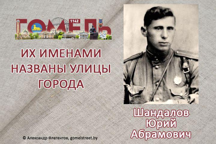 Шандалов, Юрий Абрамович