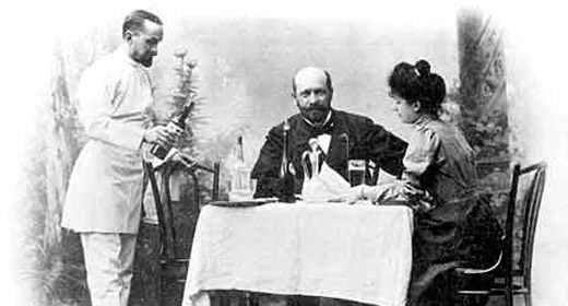 Какими были рестораны Гомеля в прошлом столетии?