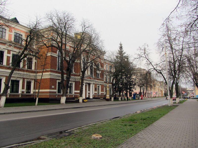 Улицы Пятая Поперечная (Почтовая) и Вокзальная в Гомеле
