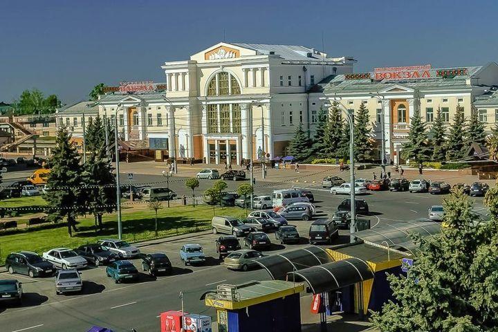 Район Привокзальной площади в Гомеле