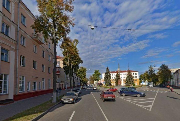 Улица Новиковская (Карповича) в Гомеле