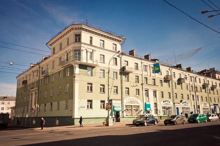 Улица Замковая (Комсомольская, проспект Ленина) в Гомеле