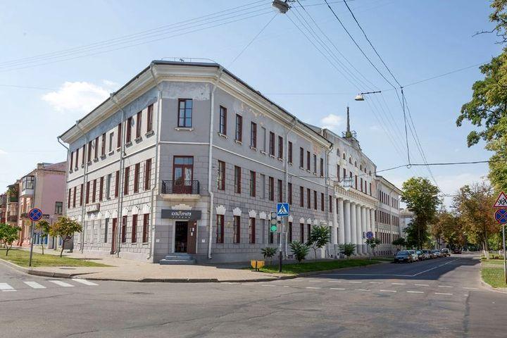 Улицы Липовая (Пушкина) и Садовая в Гомеле