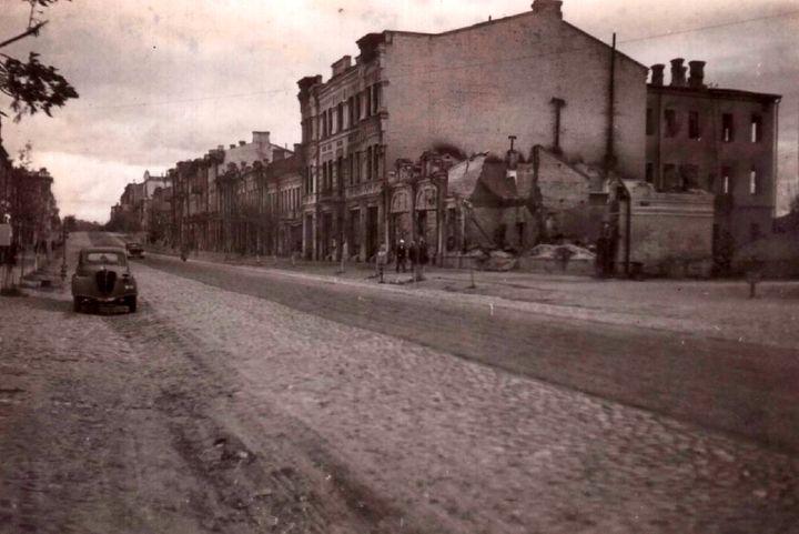 Топонимика Гомеля во время нацистской оккупации