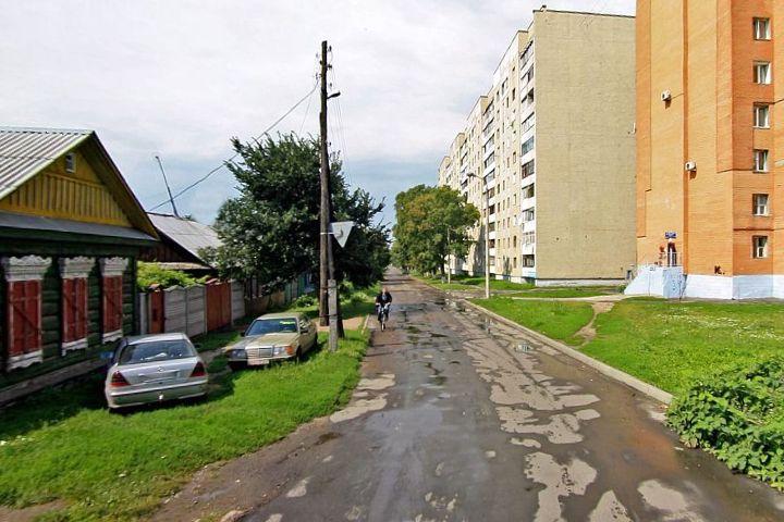 Улица Ярославская в Гомеле