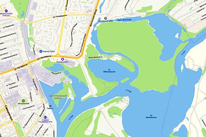 Озеро Обкомовское