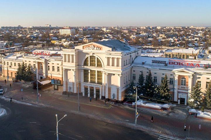 Железнодорожный вокзал станции Гомель
