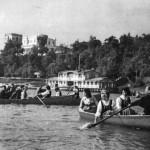 Вид на Гомель со стороны Сожа (1950)