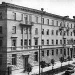 Здание центральной гостиницы Сож по улице Крестьянской (1950)