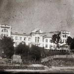 Военный госпиталь, вид с берега Сожа, 50-е годы. Фото из архива Александра Ласицы