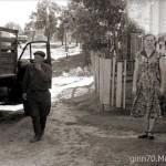 Улица 9 Мая (выход на улицу Ильича, где теперь находится зона отдыха). 1958 г. Фото Ginn70.