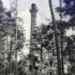 40-метровая башня обозрения в парке культуры, 1955 год.