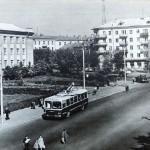 Площадь Труда. 1965.