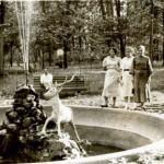 В гомельском парке в 1960-е годы.