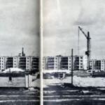Новый район Гомеля. 1971