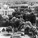 Вид на Гомельский парк. 1975 год