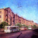 Проспект Ленина. 1971 год