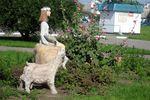 Скульптура Алёнушка