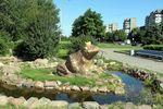 Скульптура Царевна-лягушка