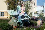 Скульптура Дюймовочка
