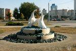 Скульптура Лебеди