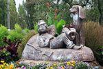 Скульптура Охотник с собакой