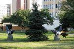Скульптурная группа Сороки