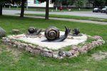 Скульптура Улитки