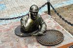 Скульптура Водопроводчик