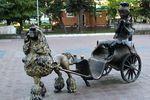 Скульптурная группа по сказке Золотой ключик