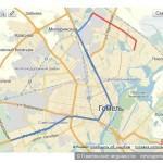 Схема маршрута 3-Т
